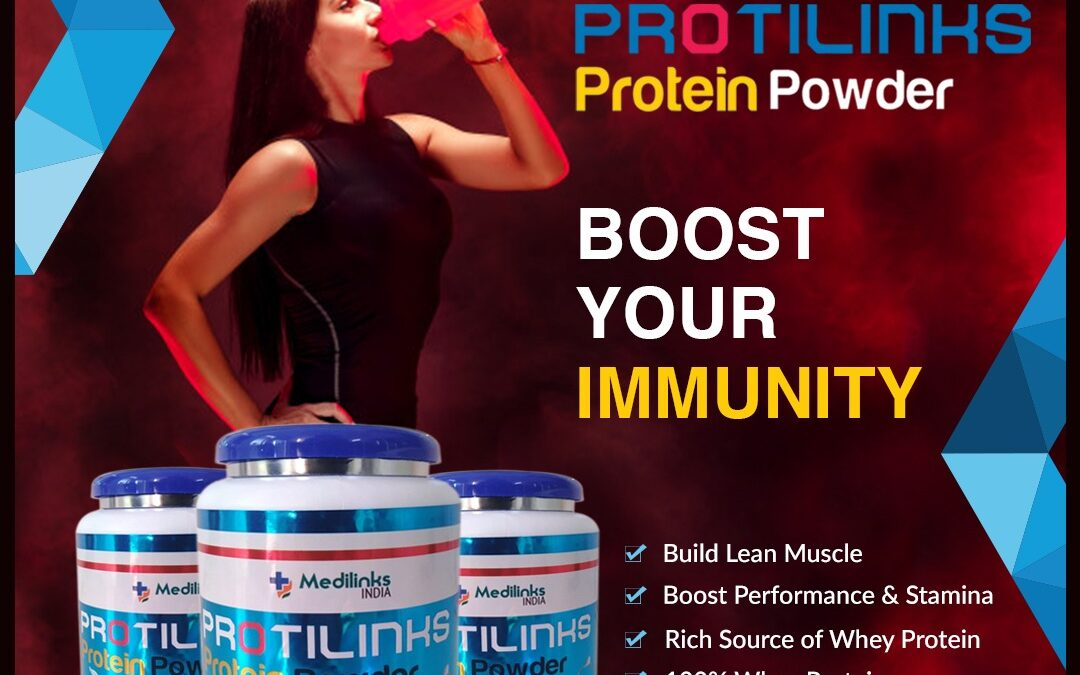 Protilinks Protein Powder- a Quality Product by Medilinks India (Neutraceutical Division)